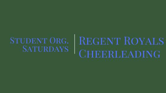Student Org. Saturdays: Cheerleading