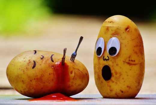 Potato Yam Afraid to Die