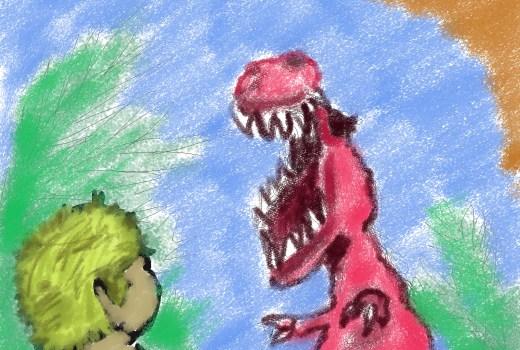 Jake Chambers and Dinosaurs