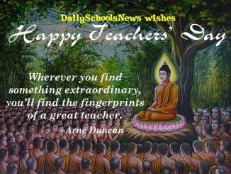 Greetings on Teachers' Day 2020