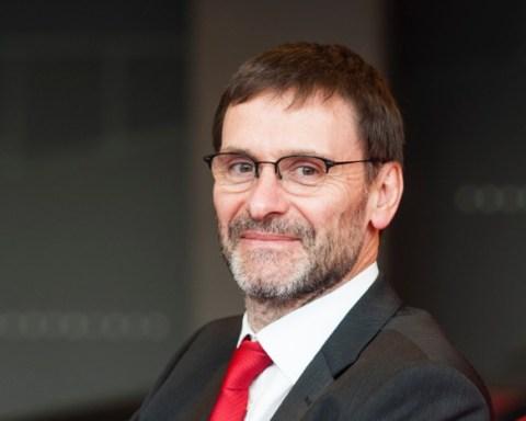 Albert Corhay, nouveau recteur de l'Université de Liège. © ULg-JL Wertz