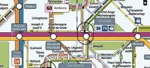 Métro à Bruxelles