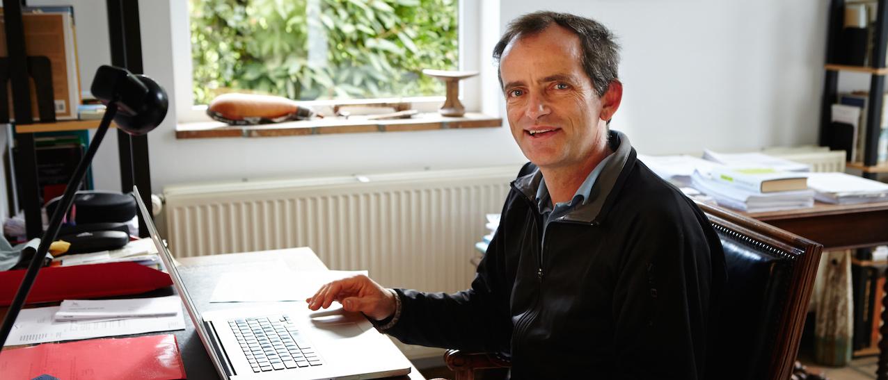Le Pr Eric Lambin, Université catholique de Louvain (UCL) et Université de Stanford.