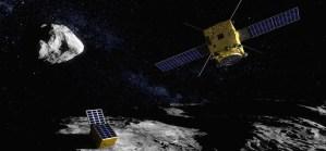Mission AIM de l'ESA, à destination de l'astéroïde Didymos. © ESA