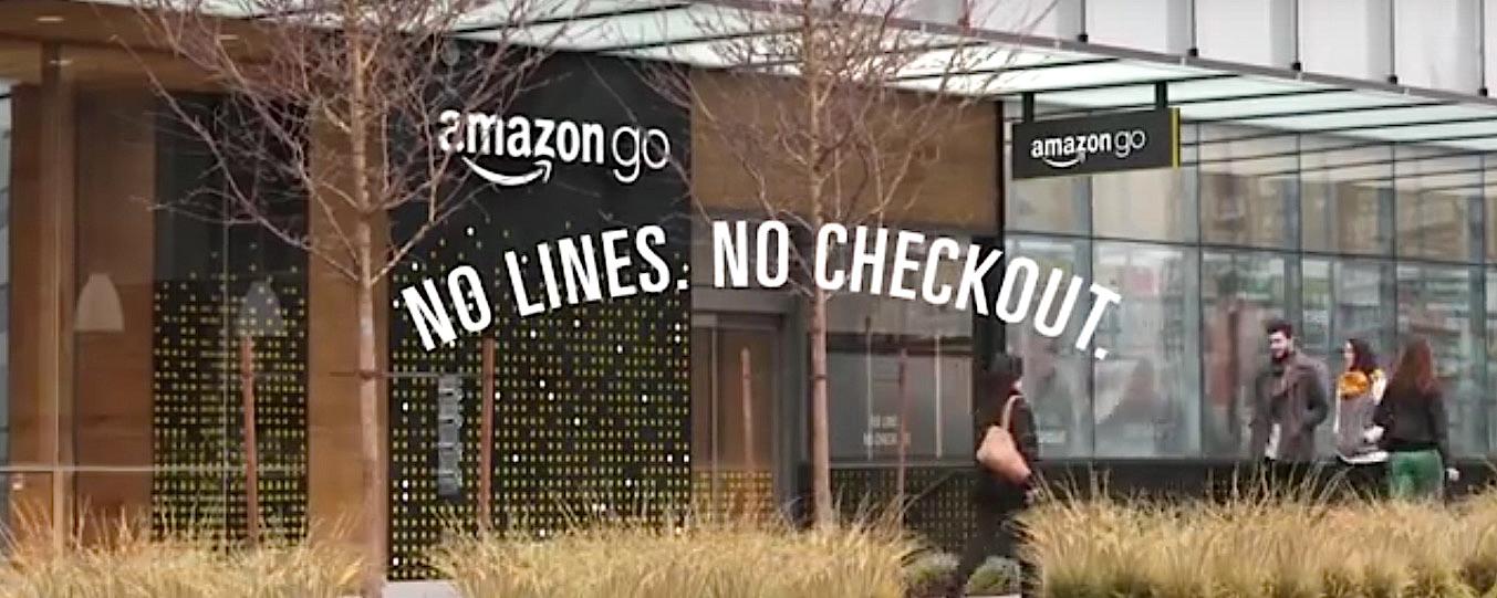 """""""Amazon go"""", le magasin sans files, sans caisses et sans employés."""