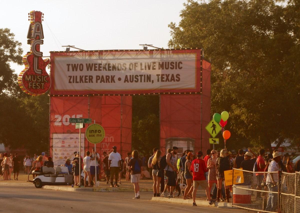 """""""Austin City Limits"""", festival de musique prenant place chaque année à Austin, un peu la version locale de Werchter en Belgique © Simon Jusseret"""