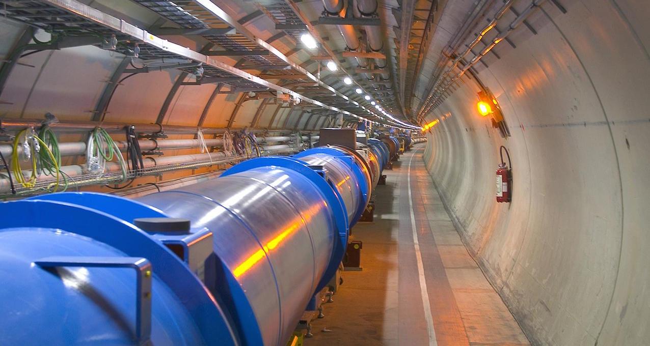 Tunnel du LHC. © CERN/Brice
