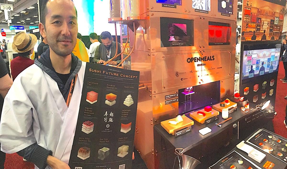 Sushi Singularity, un projet de restaurant à… sushis «imprimés» qui devrait ouvrir en 2020 à Tokyo