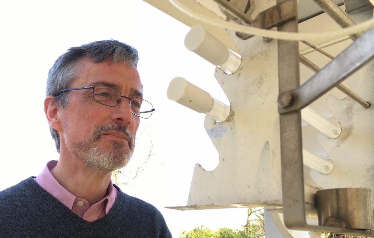 Daniel Gellens, directeur a.i. de l'Institut royal Météorologique de Belgique (IRM)