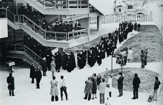 UCL/Woluwe : première rentrée académique 1974