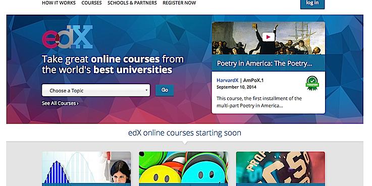 Une quarantaine de partenaires et d'universités à travers le monde collaborent à la plateforme edX.org