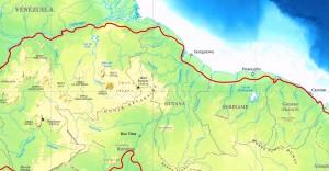 Localisation du Plateau des Guyanes (cliquez pour agrandir).