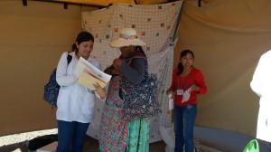 Campagne de sensibilisation au dépistage sur les marchés, Cochabamba, Bolivie
