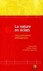 Aux éditions Academia-L'Harmattan, «La nature en éclats» sous la direction de Bernard Feltz & Nathalie Frogneux - Editions Academia-L'Harmattan. VP 32,30 €.