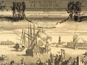 """""""Atlas Curieux"""", publié à Paris. (Cliquer pour agrandir)"""