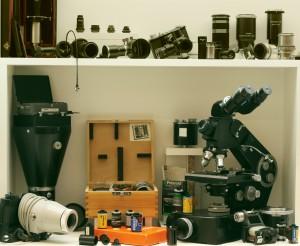 Matériel de photomicrographie