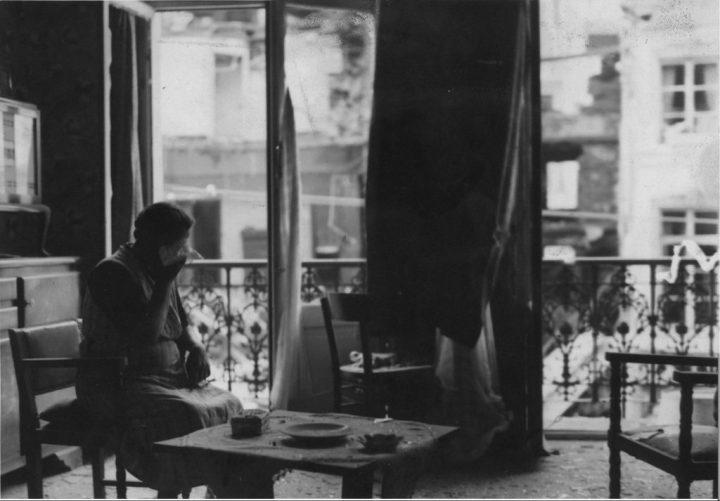 « Bombardement de Bruxelles par les Allemands, mai 1940 ». Collection Actualit, CegeSoma (CegeSoma : n°46).