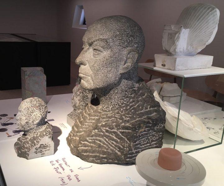 Laboratoire de sculpture sur pierre.