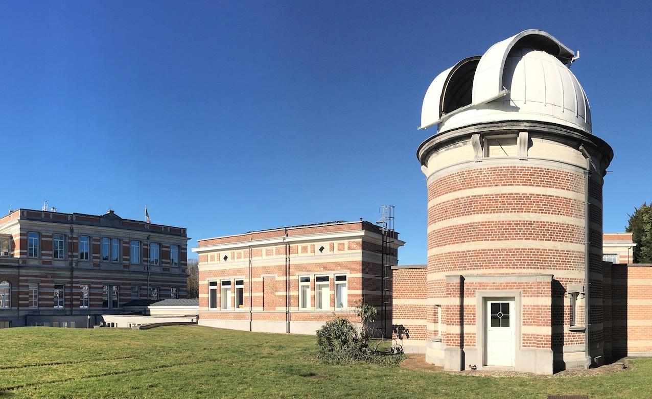 Tour solaire à l'Observatoire royal de Belgique, à Uccle. © CDB
