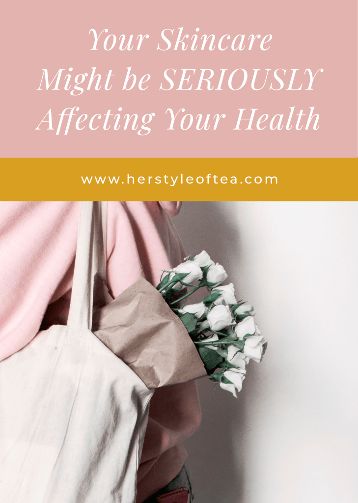 7 Toxic Ingredients in your personal care products and how they might be affecting your health. #cleanbeauty #nontoxicskincare #health #naturalbeauty #organicskincare #blackhair #toxicbeautyingredients #toxicskincare