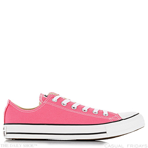MAIN IMAGE - Pale Pink Low-Cut Sneakers by CONVERSE