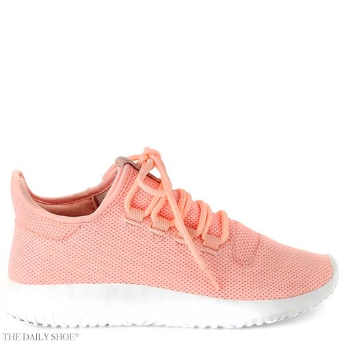 Adidas Tubular Shadow Knit Sneaker, Pink