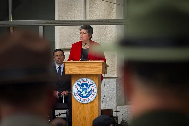 After the Associated Press reported in March 2013, that the Obama administration had released more than 2,000 immigrants over a three-week period, Homeland Security Chief Janet Napolitano said the story was 'not really accurate.' (Photo: James Tourtellotte/Creative Commons)