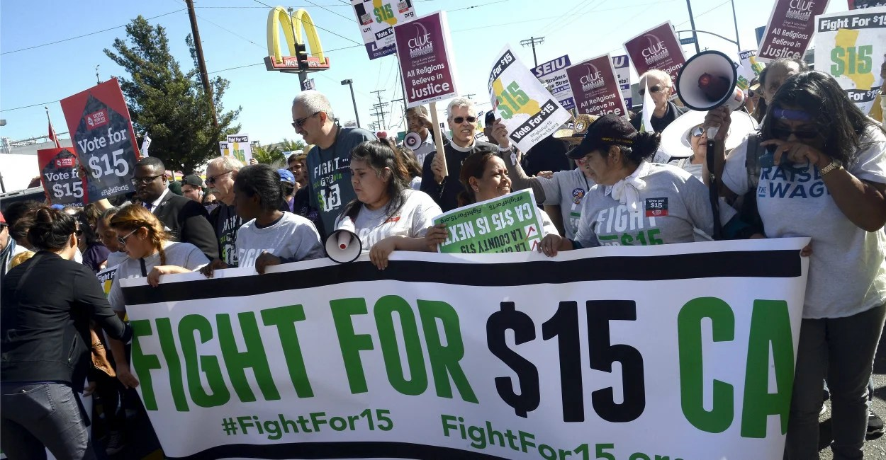 Image result for image of minimum wage