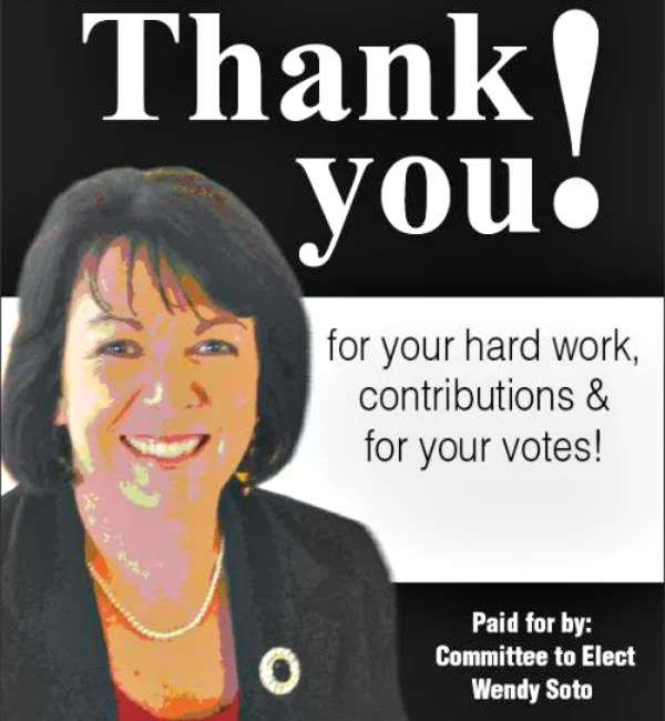Wendy Soto, executive director of Wyoming's judicial conduct commission, pictured in an image from her unsuccessful 2010 campaign for clerk of the Laramie County District Court.