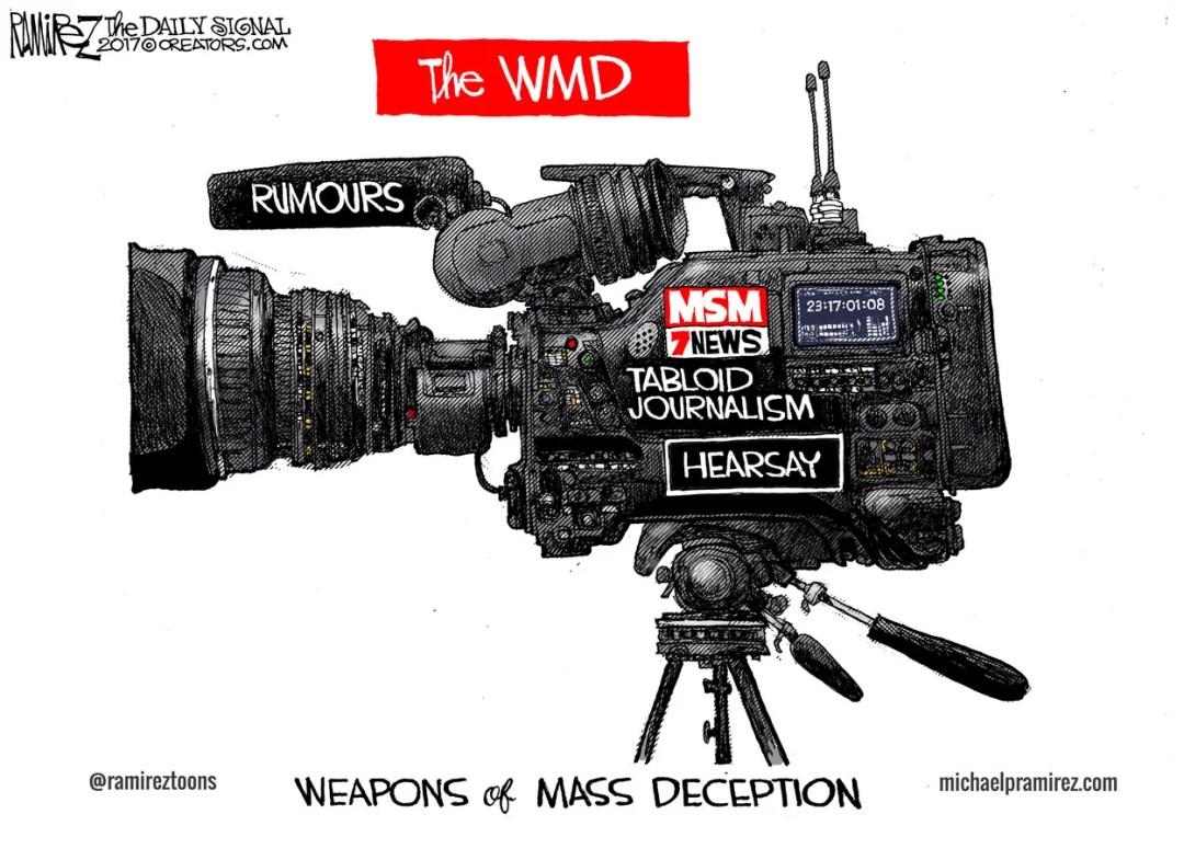 Cartoon: Weapons of Mass Deception