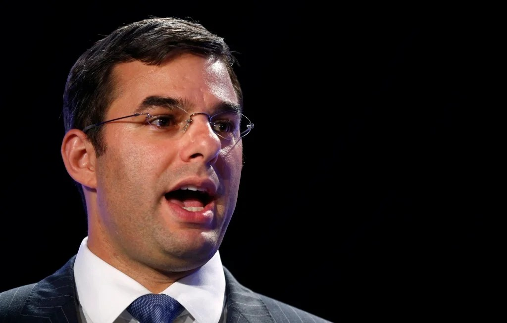 """Rep. Justin Amash, R-Mich., is a leading opponent of the no-fly list because he believes it infringes """"on our rights without due process."""" (Photo: Kevin Lamarque/Reuters/Newscom)"""