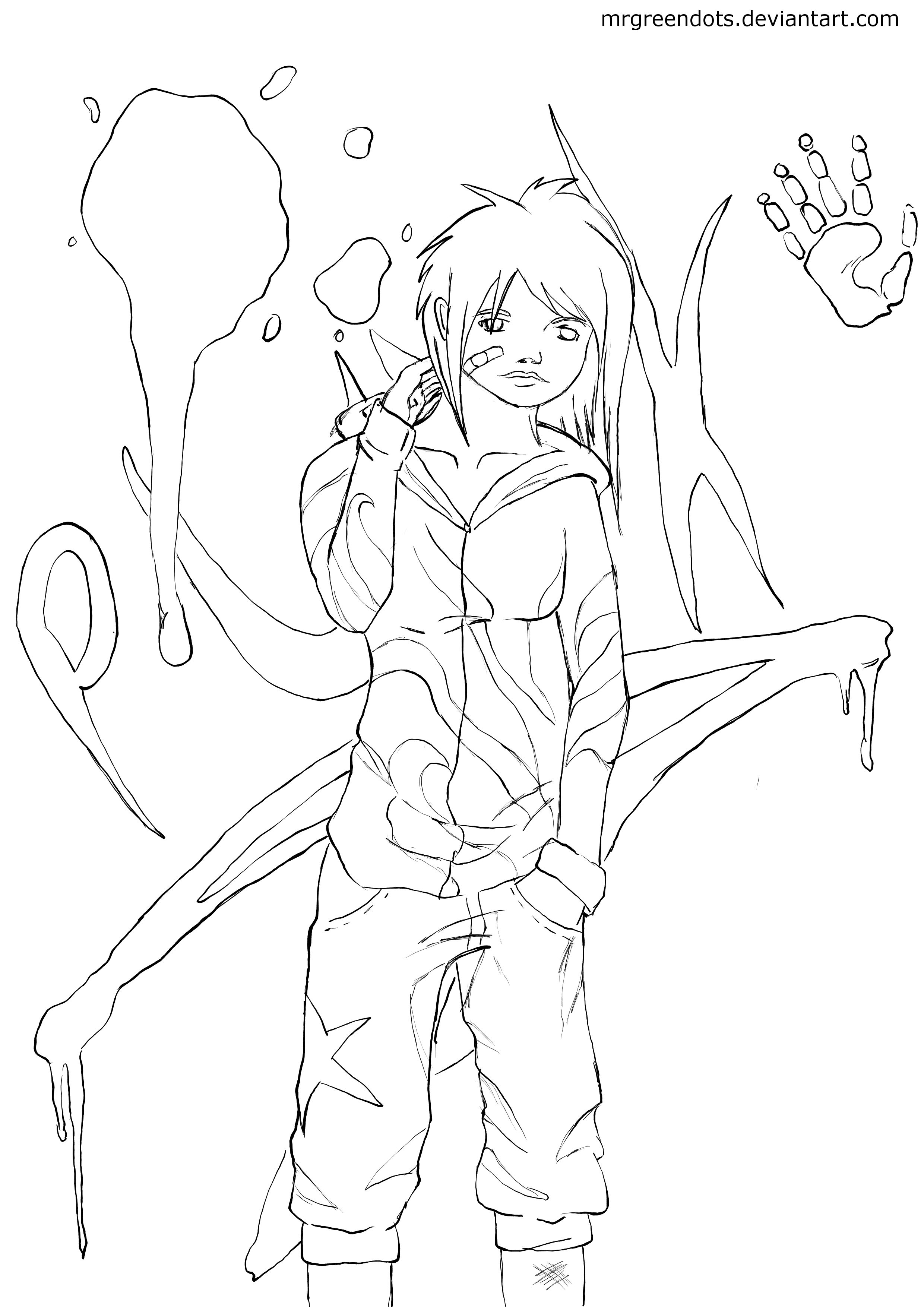 punk rock anime coloring pages coloring pages