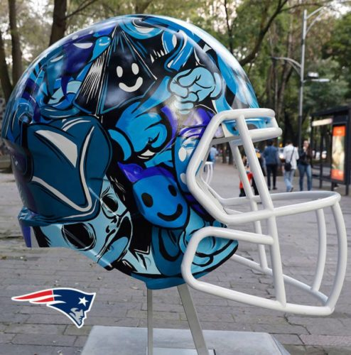 Mexican Artists Hand Paint Reimagined Helmet Designs For