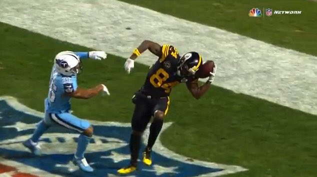 Antonio Brown One Handed Catch
