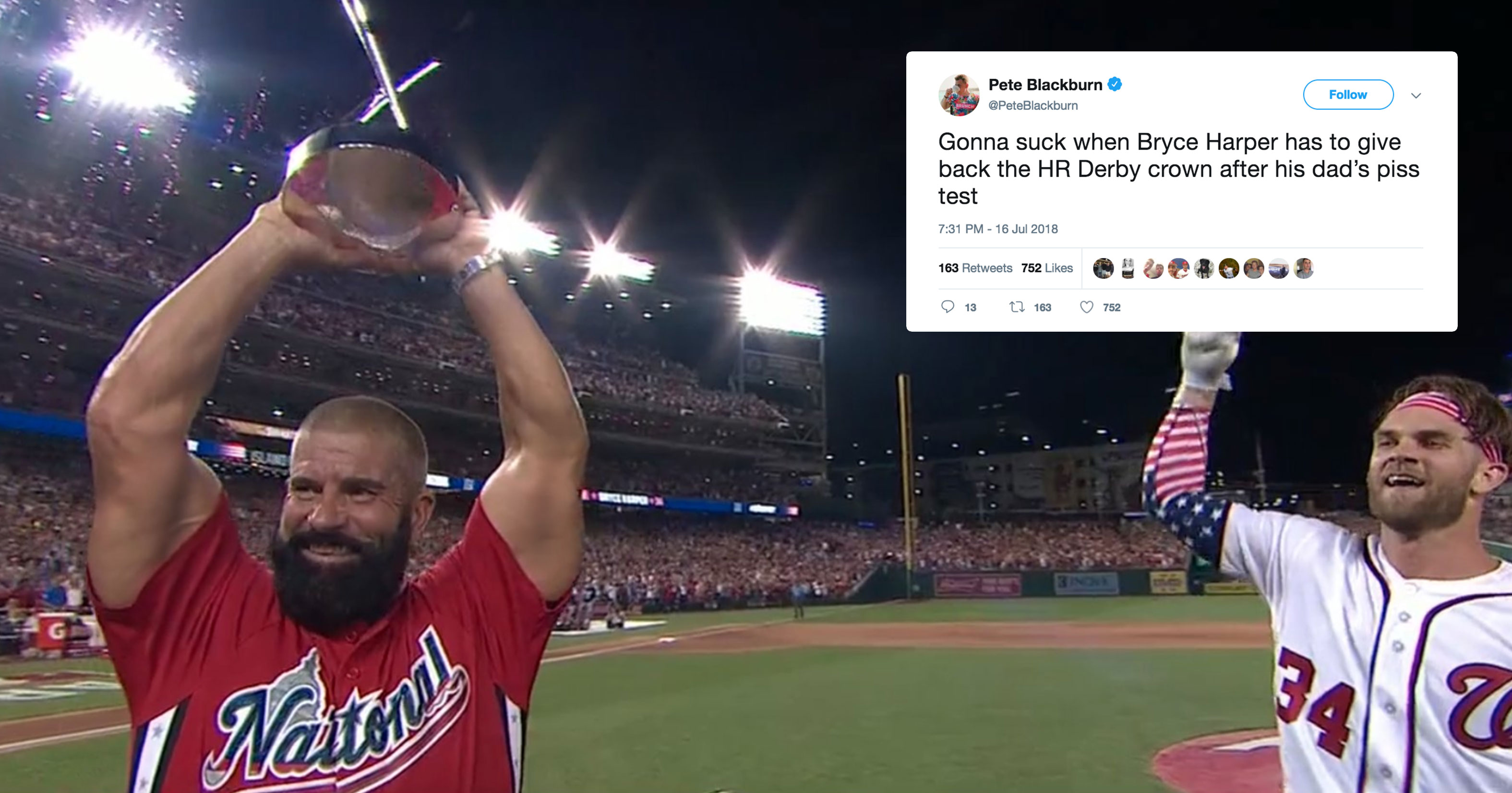 The Internet Cant Get Over How Jacked HR Derby Champ