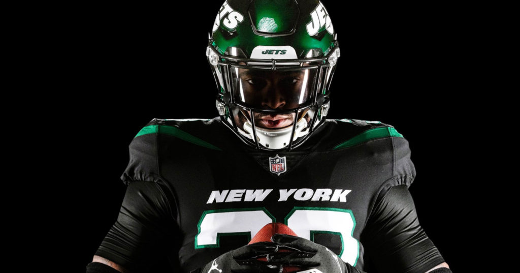 New York Jets Officially Unveil New Uniforms Amp Helmets PICS