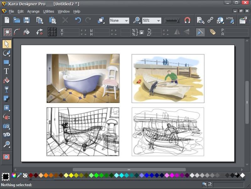 Xara Designer Pro windows