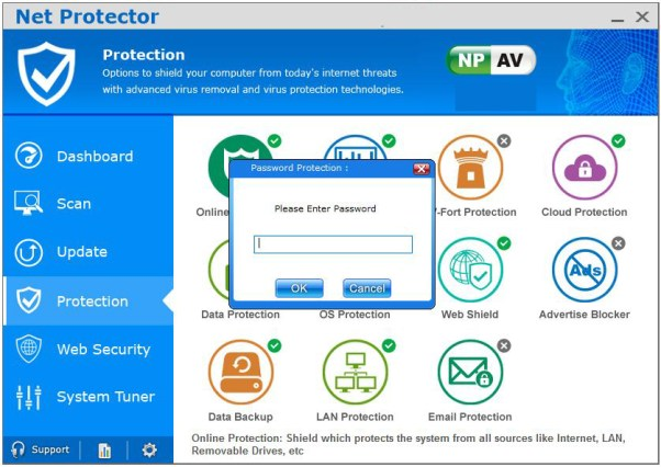 Net Protector AntiVirus windows