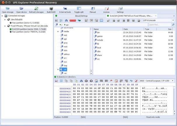 UFS Explorer Professional Recovery windows