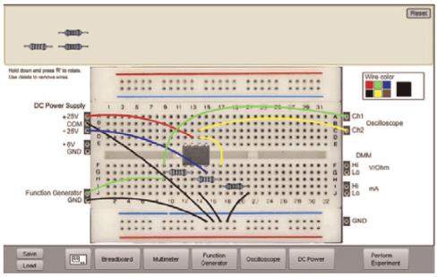 Virtual Breadboard windows