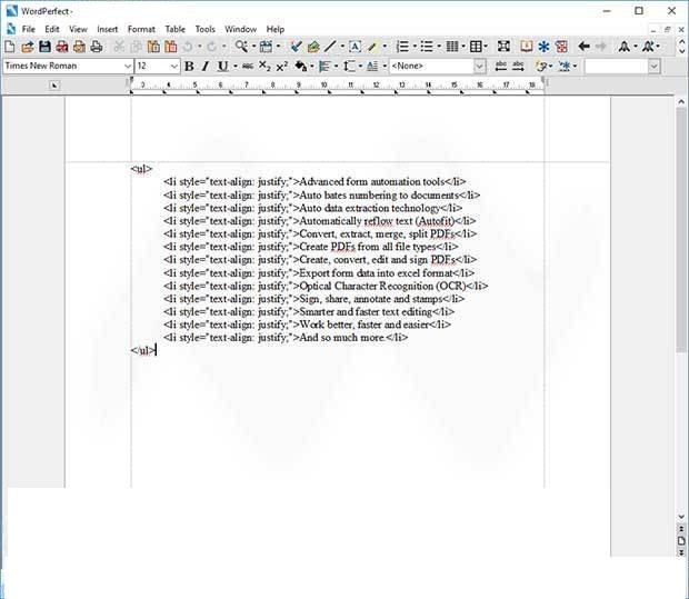 Corel WordPerfect Office X9 windows