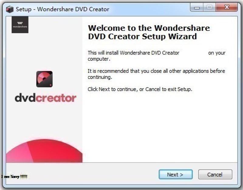 Wondershare DVD Creator windows