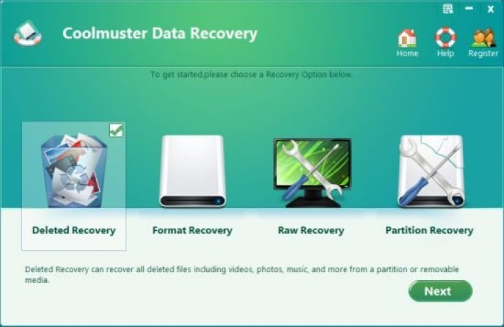 Coolmuster Data Recovery windows