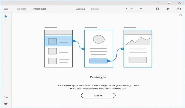 Adobe XD windows