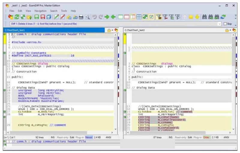 ExamDiff Pro Master Edition windows