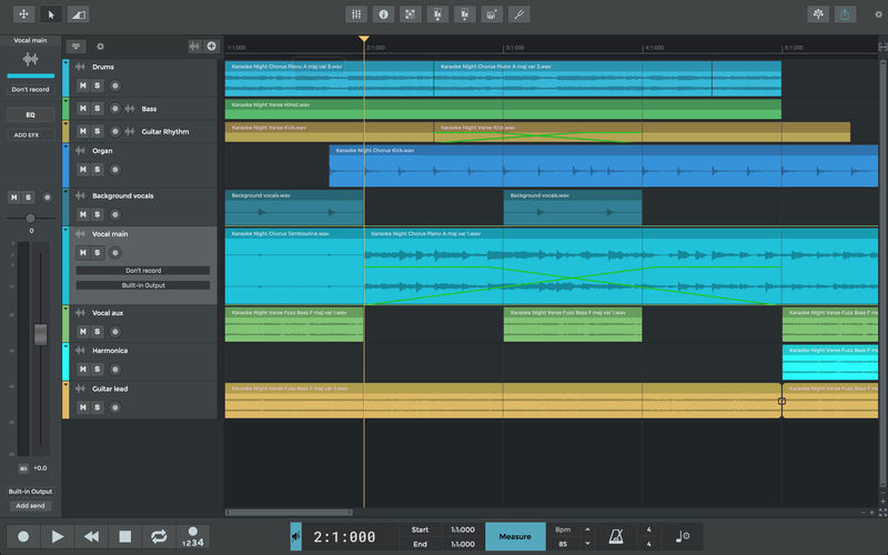 n-Track Studio Suite windows