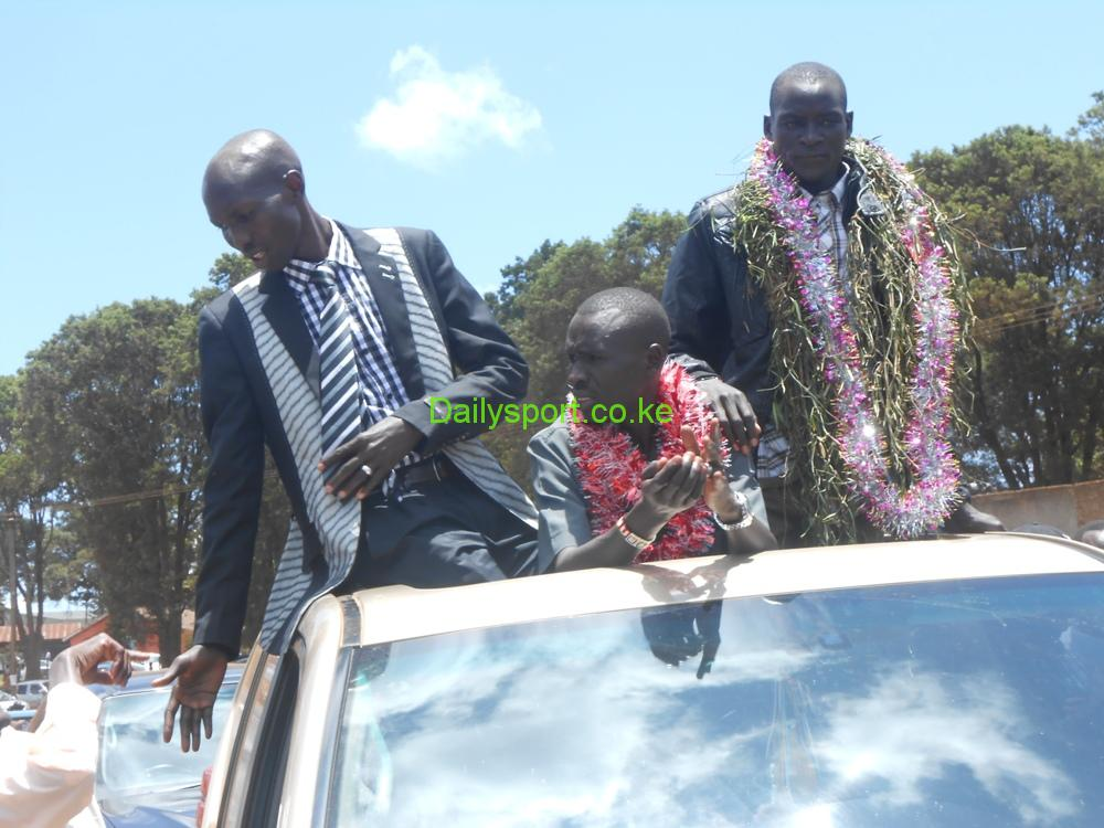 Photo of Wilson Kipsang, graduate police that was by no means promoted