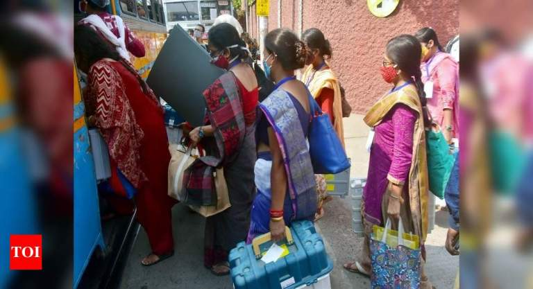 Covid surge may impact turnout in West Bengal today | India News