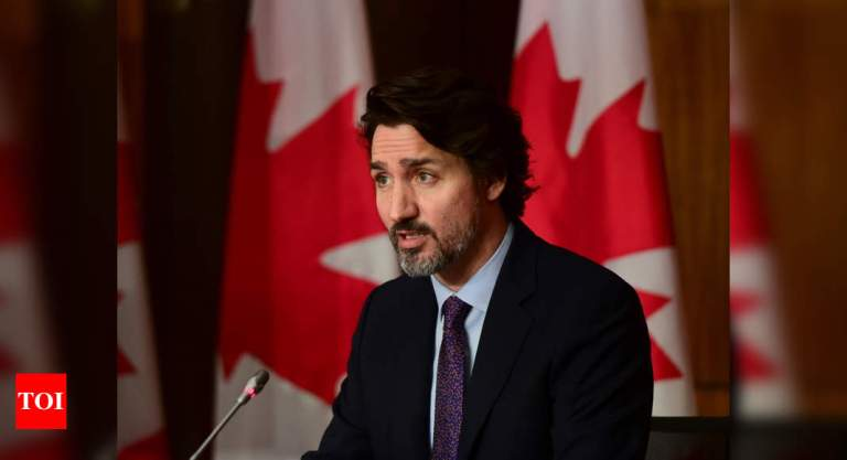Canada to provide 10 million dollars to India to support fight against Covid-19: PM Justin Trudeau | India News