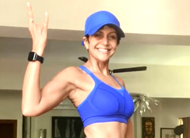 Mandira Bedi encourages everyone to be active during these tough times, says 'keep the exercise going' : Bollywood News